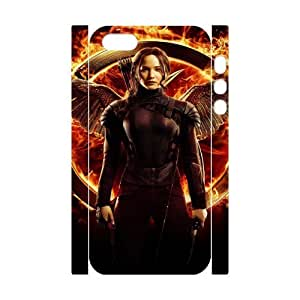 The Hunger Games 3 YT0012958 3D Art Print Design Phone Back Case Customized Hard Shell Protection Iphone 5,5S