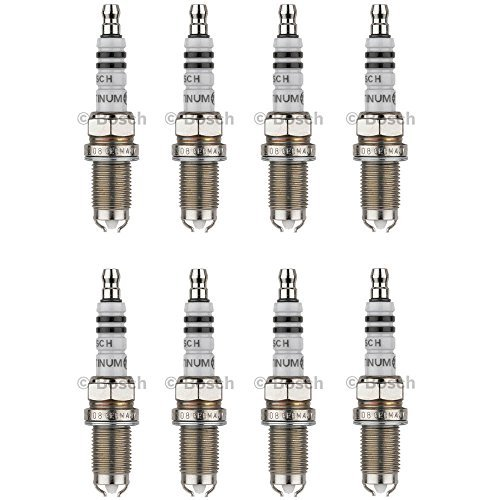 New Spark Plug (Set of 8) BOSCH # 4308 (Bosch Spark Plug Gap)