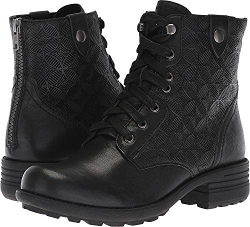 ollection Women's Cobb Hill Brunswick Lace Boot Black Leather 9 M US ()