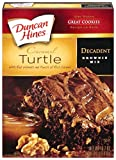 Duncan Hines Decadent Brownie Mix, Caramel Turtle, 16.7 Ounce