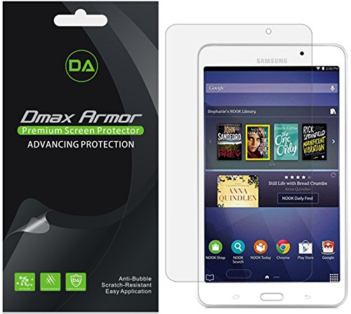 [3-Pack] Dmax Armor for Samsung Galaxy Tab 4 Nook 7.0 Anti-Glare & Anti-Fingerprint Screen Protector
