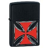 Zippo Lighter - Iron Cross Black Matte