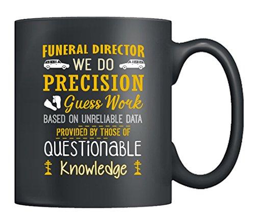 Funeral Director Coffee Mug - Funeral Director Love Mug Ceramic Tea Cup 11Oz, Perfect Gifts For Men, Women (Black)