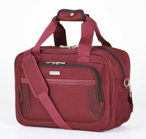 Ricardo Beverly Hills Luggage Montecito Micro Light 16 Inch Boarding Bag, Wine, One Size (Piggyback Tote)