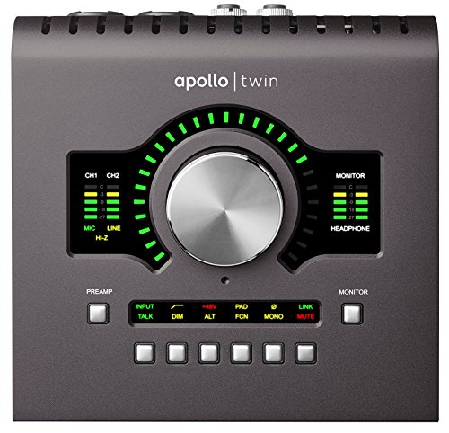 Universal Audio Apollo Twin MKII DUO (Controlled Monitor Audio)