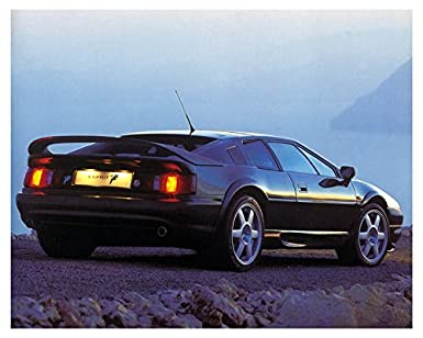 Lotus Esprit V8 Turbo Automobile Photo Poster