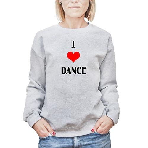 f7c04d6759987 60% de descuento Camisa de entrenamiento para mujer con la impresión del I  Love Dance