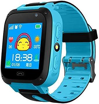 Chicpluss, INNO-KIDS5 Azul- SMARTWATCH Infantil con GPS LBS ...