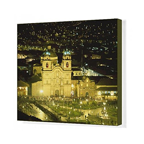 Media Storehouse 20x16 Canvas Print of South America, Peru, Cusco (11163850) by Media Storehouse