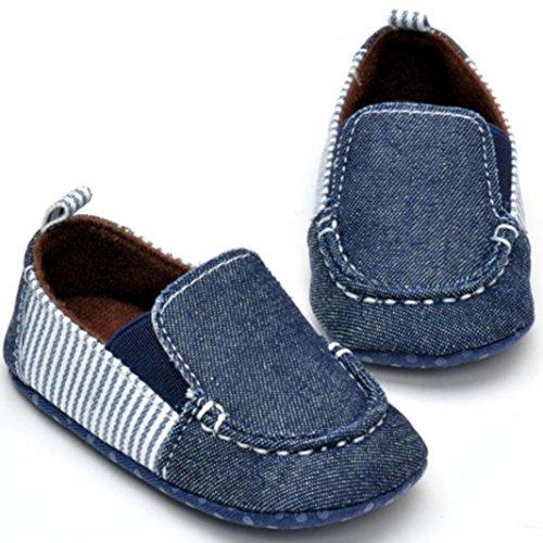 Amlaiworld Babyschuhe, Cowboy Baby Boy Kleinkind Ersten Wanderer Weichen Boden Schuhe Schwarz