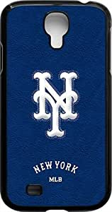 OTTHVE - MLB Team Logo, New York Mets Logo Samsung GALAXY S4 Cases (Black) - New York Mets 1 WANGJING JINDA