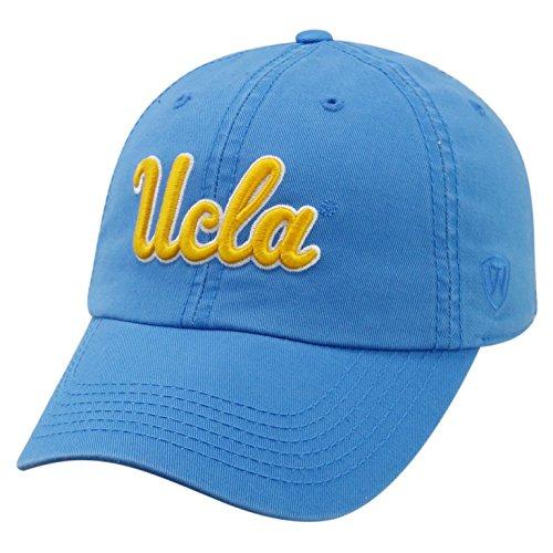 (Top of the World NCAA-Cotton Crew-City-Adjustable Strapback-Hat Cap-UCLA Bruins-Blue )