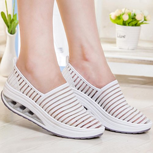 Mesh White Shoes Platform Casual Sneaker Women Kingfansion Sport Shoes Shake Shoes Fitness Lady's 70axwEq