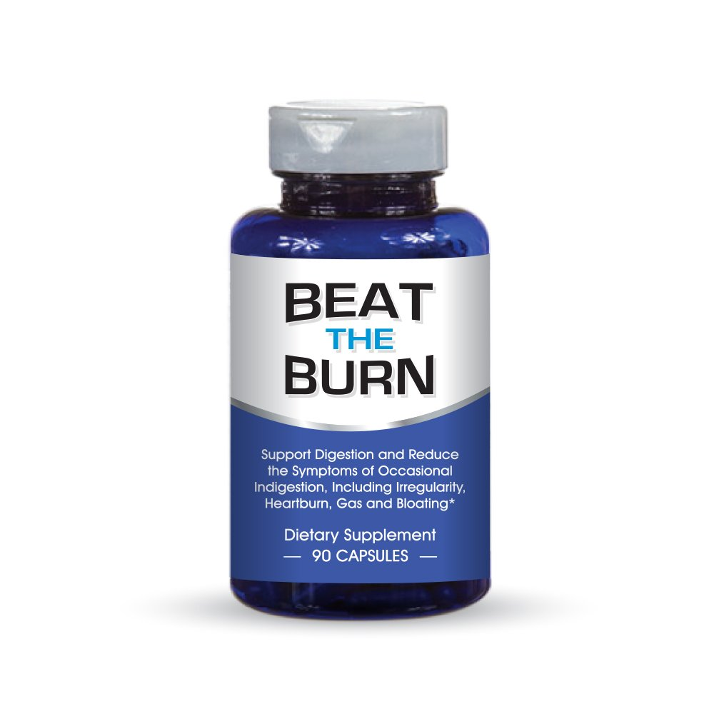 Digestive Enzymes Supplement, It Works Or Your Money Back! Daily Dietary Enzymes For Digestion. Beat the Burn , 90 Capsules EnzymeDr