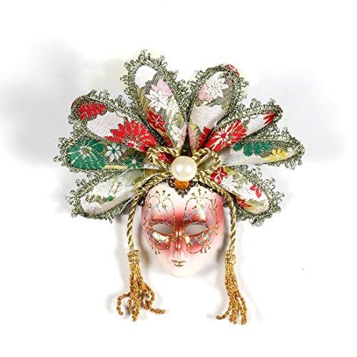 YUFENG Mini Mardi Gras Glitter Mask Venetian Masquerade Decoration (Pics Of Mardi Gras Masks)