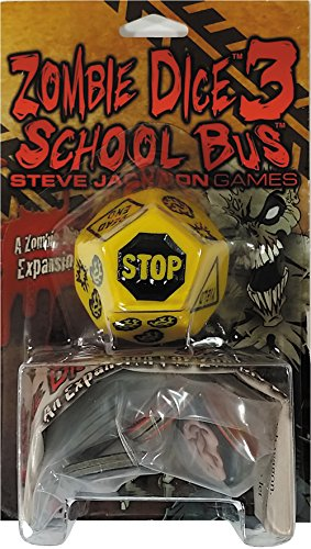 Giant School Bus (Zombie Dice 3 School Bus Game)