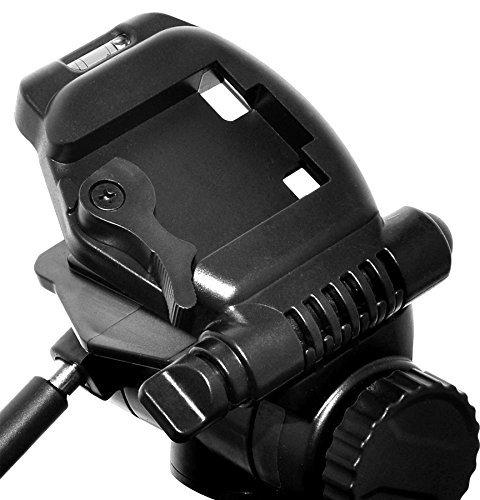 D3000 D750 D5100 D610 D5300 D7100 D700 D3300 D800E D3400 D5500 D7000 D810A D600 D90 D3100 D800 D810 D5200 L830 Digital Camera D3200 COOLPIX L840 D5000 D7200 75-Inch 3-Way Pan Head Tripod w// DUAL Bubble Level Indicators For Nikon D80