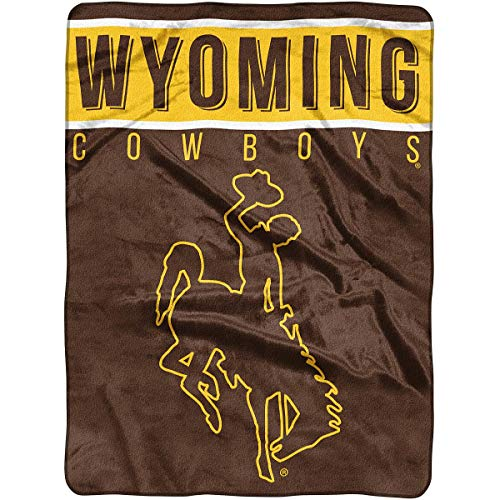 - The Northwest Company Officially Licensed NCAA Wyoming Cowboys Basic Raschel Throw Blanket, 60