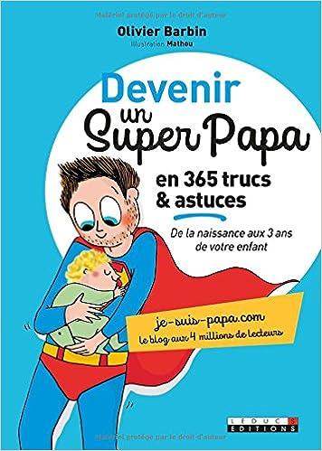 idée cadeau fête des pères futur papa livre