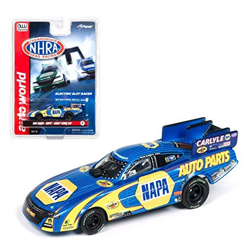 (Auto World NHRA Funny Cars NAPA Ron Capps 4 Gear Electric Slot Car SC325)