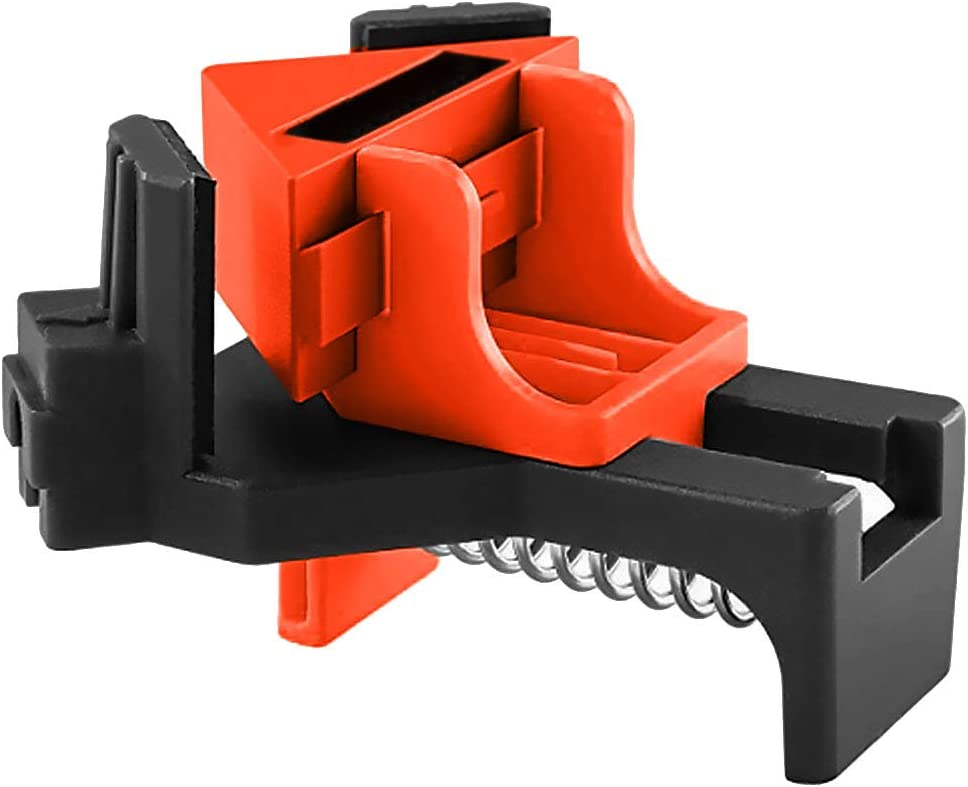 THE BEST DAY Multifunction Angle Clamp Single Handle 90/°Corner Clamp DIY Corner Holder Quick Fixed Woodworking Tool Woodworking Corner Clip