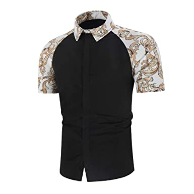 Camisa de Vestir para Hombre de Manga Larga con Botones - Negro ...