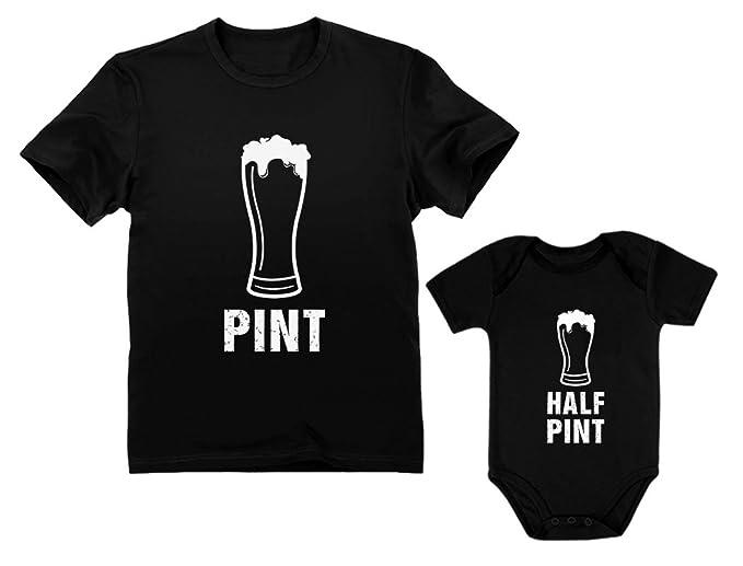 Amazon.com: Pint & Half Pint Body para bebé y camisa para ...