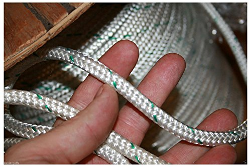200 feet Double Braid Polyester Rope 3/8 4800Lbs BREAKING STRENGTH by Unbranded*