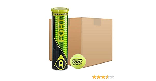 Pelotas Tenis Dunlop Fort All Court TS 18x4: Amazon.es: Deportes y ...
