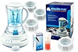 Vitalizer Plus Hexagonal Oxygen Water Maker with Four Mineral Cube and Alkaline Test Solution