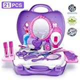 Gizmovine Pretend Toys, Girl Make Up Toys with Carry Case Birthday Gift Christmas Toy Gifts for...