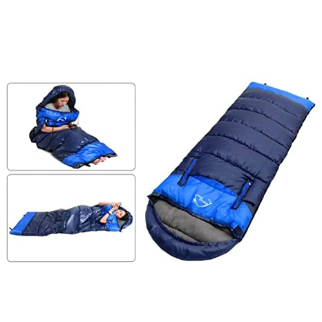 Shiduoli Saco de Dormir Saco de Dormir Impermeable, Ideal para IR de excursión al Aire
