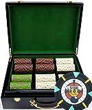 1000 13g poker chips - 500Ct Custom Claysmith Gaming 'Rock & Roll' in Hi Gloss
