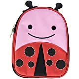 Skip Hop Zoo Lunchie Little Kids & Toddler Insulated Lunch Bag, Livie Ladybug
