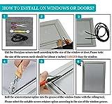 Senneny Adjustable Window Screens, DIY Custom