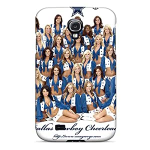 VyIzk18886YOTag Tpu Phone Case With Fashionable Look For Galaxy S4 - Dallas Cowboys Cheerleaders