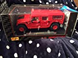 #31858 Maisto Special Edition Hummer Station Wagon, Red 1/18 Scale Diecast