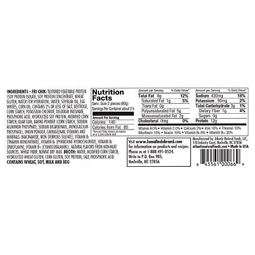 Loma Linda - Plant-Based - FriChik (12.5 oz.) - Kosher 5