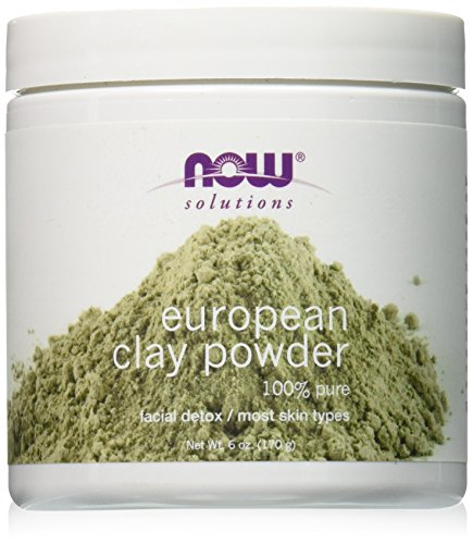 NOW European Clay Powder, 6-Ounce
