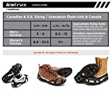 ICETRAX V3 Tungsten Winter Ice Grips for Shoes and