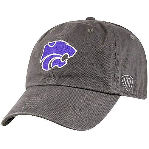 Top of the World Kansas State Wildcats Men's Hat Icon, Charcoal, ()