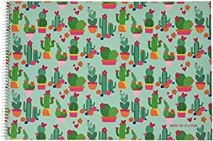 Agatha Ruiz De La Prada 7417 - Cuaderno dibujo, diseño cactus