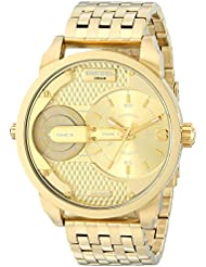 Diesel Mens DZ7306 The Daddies Series Analog Display Analog Quartz Gold Watch
