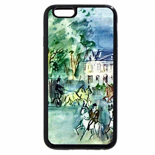 iPhone 6S / iPhone 6 Case (Black) Promenade at Bois 1
