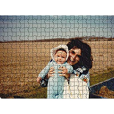 Custom Photo Jigsaw Puzzle 1000 Pieces, Personalized Custom Puzzle from Your own Image and Text, DIY Gift at Home, 29.5x19.7 in: Toys & Games