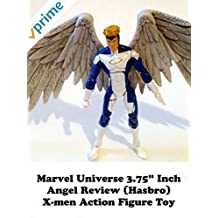 """Review: Marvel Universe 3.75"""" Inch Angel Review (Hasbro) X-men Action Figure Toy"""