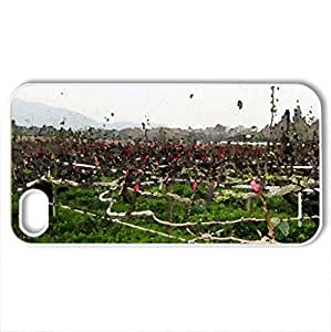 Protect tree branches - For Samsung Galaxy S3 I9300 Case Cover (Grass Series, Watercolor style, White)