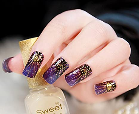 Buy Nail Art Stickers 07 Online At Low Prices In India Amazon