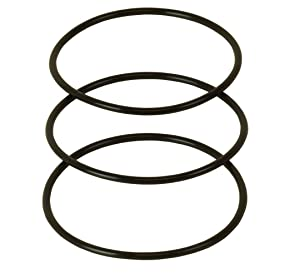 """APEC Water Systems Set 3 Pcs 3.5"""" O.D. Replacement O-Ring for Reverse Osmosis Water Filter Housings"""