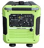Cheap Green-Power America GPG3500iE 3500W Inverter Generator, Green/Black